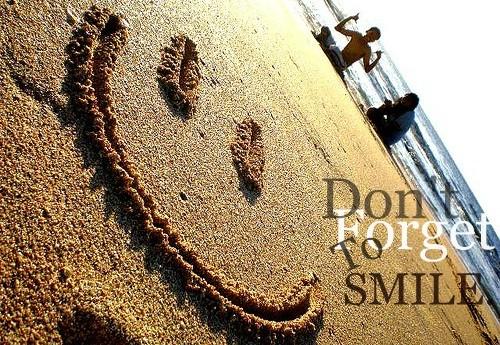 nao esqueça de sorrir